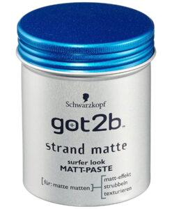 Sáp vuốt tóc Got2b Strand Matte Schwarzkopf, 100ml