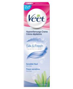 Kem tẩy lông Veet Silk & Fresh, 100 ml