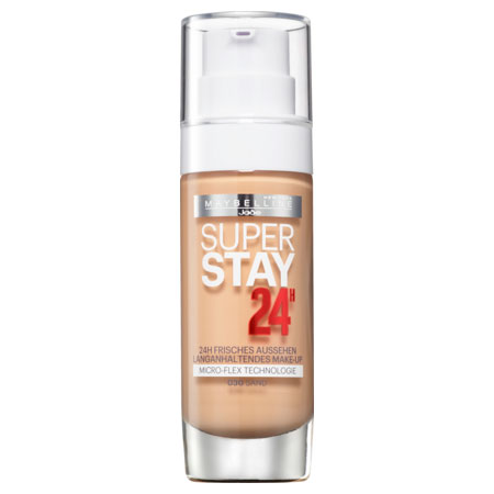 Kem nền Maybelline New York Superstay 24H Make-up 030 sand, 30ml