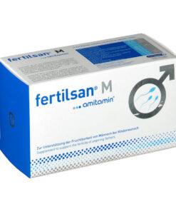 Vitamin amitamin fertilsan M cải thiện chất lượng tinh trùng nam giới, 90 viên