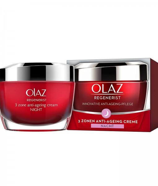 Kem dưỡng da Olaz Regenerist 3-Zonen Anti-Aeging Creme ban đêm, 50 ml