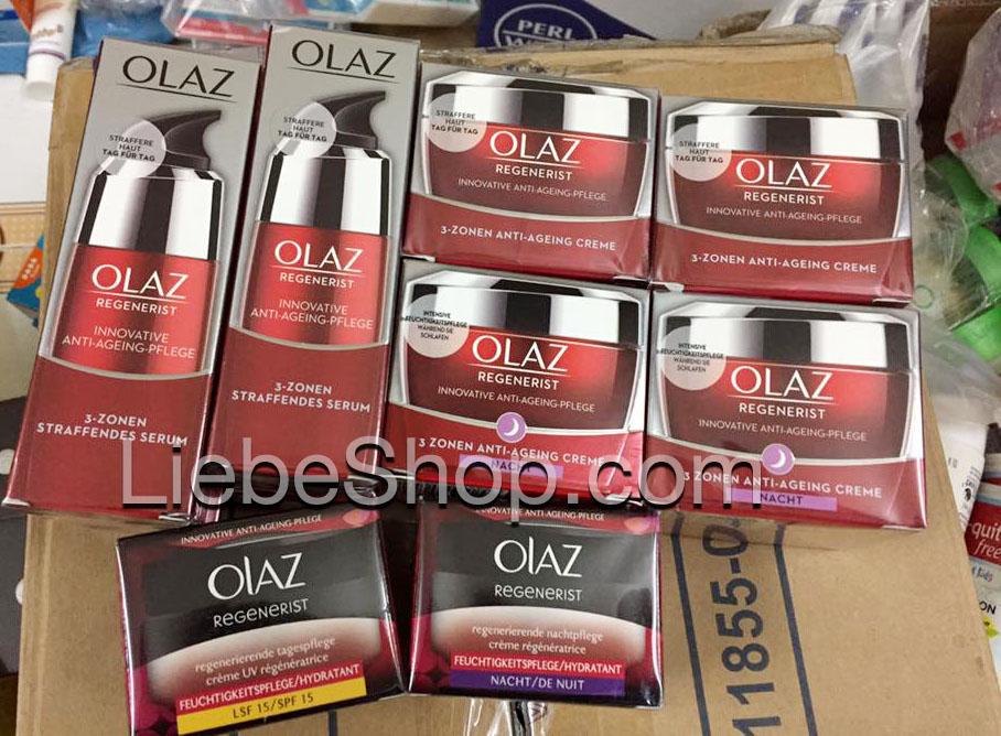 Olaz Regenerist 3-Zonen Super Straffende (mẫu mới 11/2017)