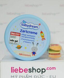 Kem dưỡng da Babydream Zartcreme, 150 ml