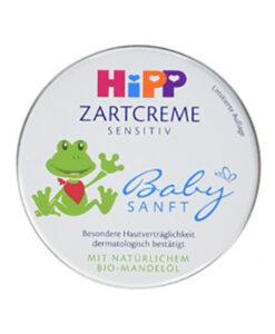 Kem dưỡng da Hipp Babysanft Zartcreme cho trẻ sơ sinh và trẻ em, 75 ml