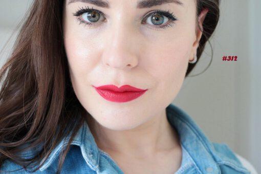 Son KIKO Velvet Passion Matte Lipstick 312 Cherry review