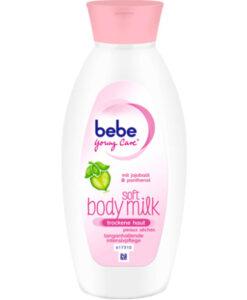 Sữa dưỡng thể bebe Young Care soft body milk cho da khô, 400 ml