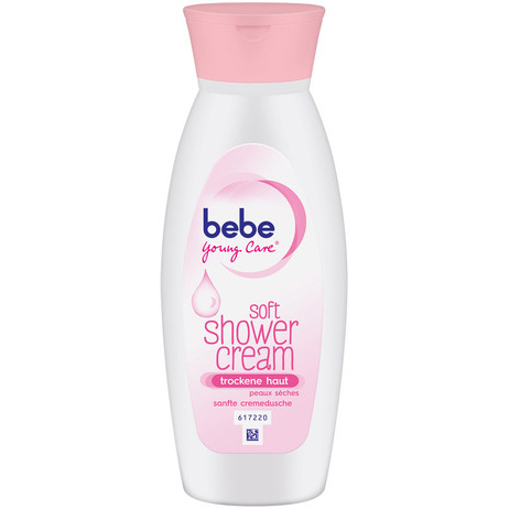 Sữa tắm bebe Young Care soft shower cream cho da khô, 250ml
