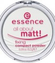 Phấn phủ Essence all about matt! fixing compact powder, 8 g