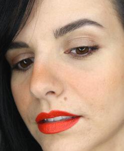 Son KIKO Gossamer Emotion Creamy Lipstick 117 - Papaya (cam)