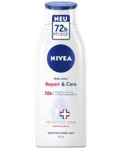 Sữa dưỡng thể Nivea Body Repair & Care 72h, 400 ml - cho da rất khô