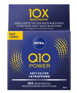 Kem dưỡng da chống lão hóa Nivea Q10 POWER ANTI-FALTEN Nachtpflege ban đêm, 50 ml