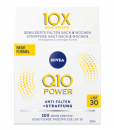 Kem dưỡng da chống lão hóa NIVEA Q10 POWER ANTI-FALTEN Tagespflege LFS 30 ban ngày, 50 ml