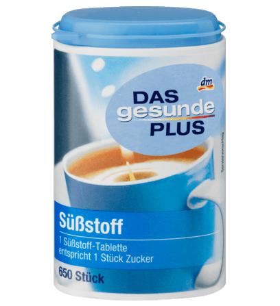 Đường ăn kiêng DAS gesunde PLUS Substoff, 650 viên