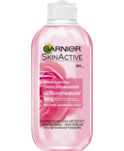 Nước hoa hồng Garnier Skin Active beruhigendes Gesichtswasser cho da khô và nhạy cảm, 200 ml