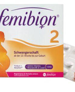 Vitamin tổng hợp cho bà bầu FEMIBION 2 Schwangerschaft 2x56v Đức
