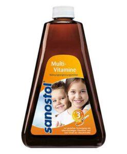 Sanostol Multi-Vitamin Saft số 3 - vitamin tổng hợp cho trẻ từ 3 tuổi, 460ml