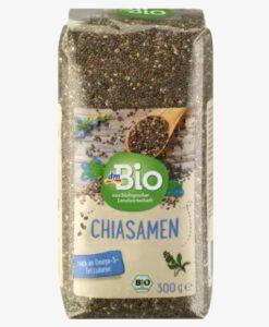 Hạt Chia hữu cơ dmBio Chiasamen, 300g
