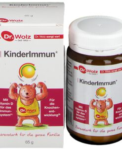Men vi sinh KinderImmun Dr. Wolz bổ sung vitamin, tăng cường hệ miễn dịch, 65g