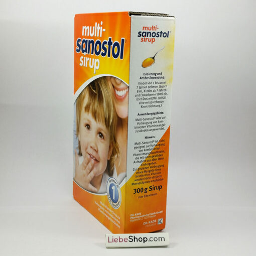 Multi-Sanostol Sirup số 1 - vitamin tổng hợp cho trẻ từ 1 tuổi, 300g