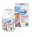 Vitamin tổng hợp DAS Gesunde PLUS Mivolis A-Z Komplett, 100 viên – bổ sung 21 vitamin và khoáng chất
