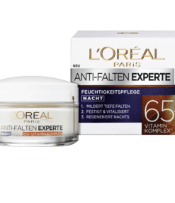 Kem dưỡng da Loreal Nachtcreme Anti-Falten Experte 65+ mờ nám giảm nếp nhăn ban đêm, 50ml