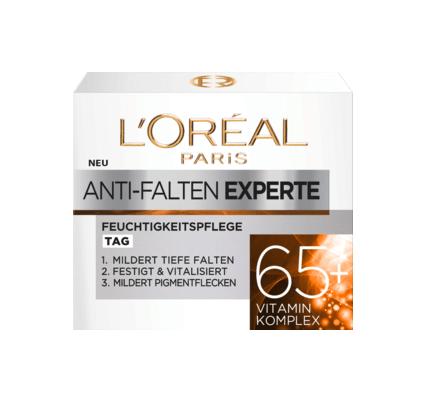 Kem dưỡng da Loreal Tagescreme Anti-Falten Experte 65+ mờ nám giảm nếp nhăn ban ngày, 50ml