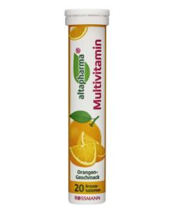 Viên sủi bổ sung vitamin tổng hợp altapharma Multivitamin, 20 viên