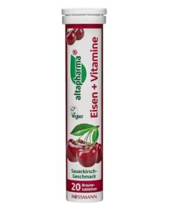 Viên sủi bổ sung sắt và vitamin altapharma Eisen + Vitamine, 20 viên