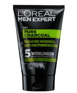 Sữa rửa mặt nam L'ORÉAL Men Expert Pure Charcoal Waschgel cho da dầu mụn