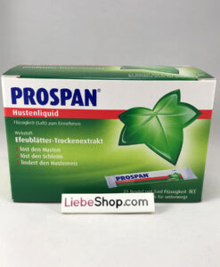 Thuốc ho Prospan Hustenliquid dạng gói, 21x5ml