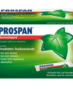 Thuốc ho Prospan Hustenliquid dạng gói, 30x5ml