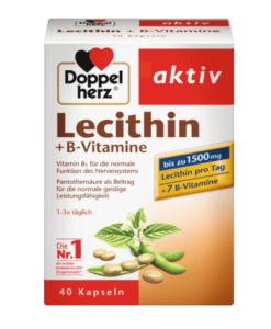Viên uống Doppelherz aktiv Lecithin + B-Vitamine, 40 viên
