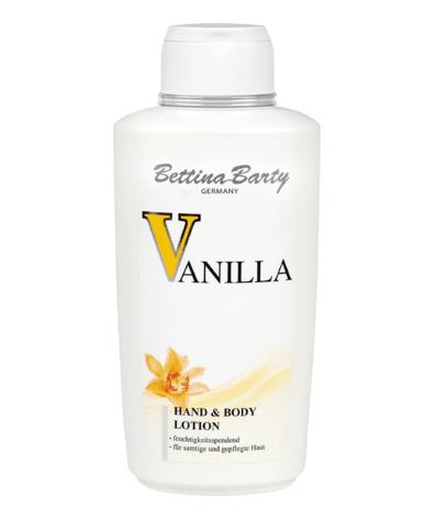 Sữa dưỡng thể Bettina Barty Vanilla Hand & Body Lotion, 500ml