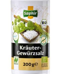 Muối thảo dược Saphir Krauter Gewurzsalz không I-ốt, 200g