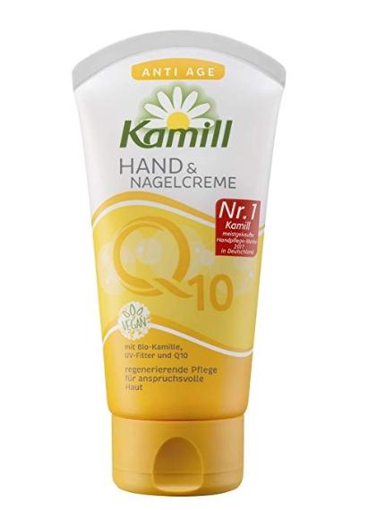 Kem dưỡng tay Kamill Hand & Nagelcreme Anti Age mit Q10 chống lão hóa, 75ml