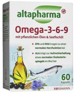 Viên uống bổ sung Omega 3-6-9 altapharma, 60 viên