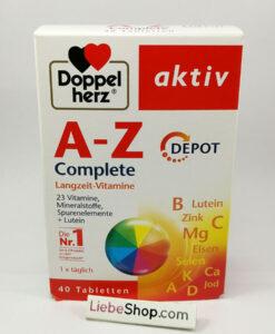 Vitamin tổng hợp Doppelherz A-Z Depot Complete, 40 viên