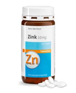 Viên uống bổ sung kẽm Sanct Bernhard Zink 10mg, 210 viên