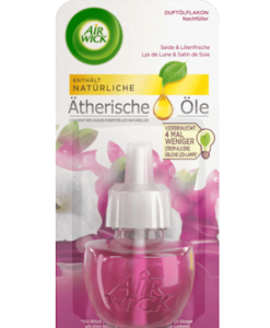 Tinh dầu cắm điện AirWick Seide & Lilienfrische hương hoa lily và tơ tằm, 19ml