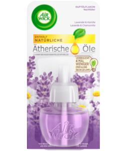Tinh dầu cắm điện AirWick Lavendel & Kamille hương hoa oải hương và cúc La Mã, 19ml