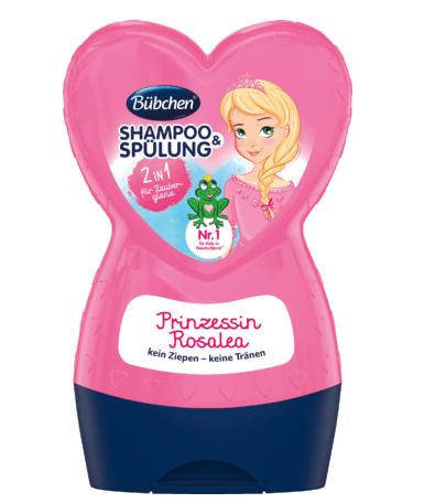Dầu gội xả Bubchen Shampoo & Spulung Prinzessin Rosalea 2in1 cho bé gái, 230 ml