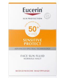 Kem chống nắng Eucerin Sensitive Protect Face Sun Fluid LSF 50+, 50ml