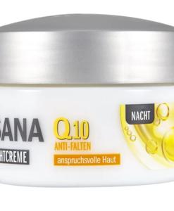 Kem dưỡng da ISANA Q10 Anti-Falten Nachtcreme ban đêm, 50ml