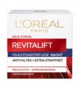 Kem dưỡng da L'ORÉAL PARIS Revitalift Classic Nacht làm căng da ban đêm, 50 ml