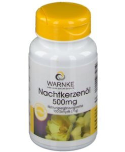 Viên uống tinh dầu hoa anh thảo Warnke Nachtkerzenol 500mg, 100 viên