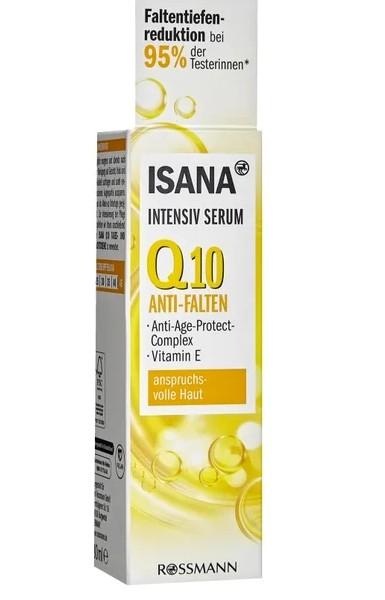 Serum ISANA Q10 Anti-Falten giảm nếp nhăn, 30ml