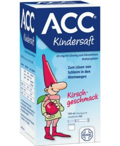Siro ho ACC Kindersaft ho long đờm, 100ml