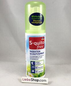 Xịt chống muỗi S-quito free Insektenschutzspray, 100ml