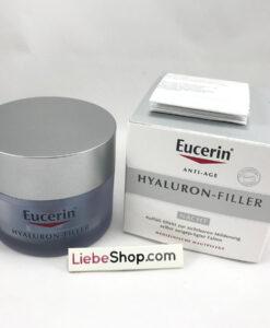 Kem dưỡng da Eucerin Hyaluron Filler NACHT chống lão hóa, giảm nhăn ban đêm, 50ml