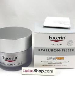 Kem dưỡng da Eucerin Hyaluron Filler TAG LFS30 chống lão hóa, giảm nhăn ban ngày, 50ml